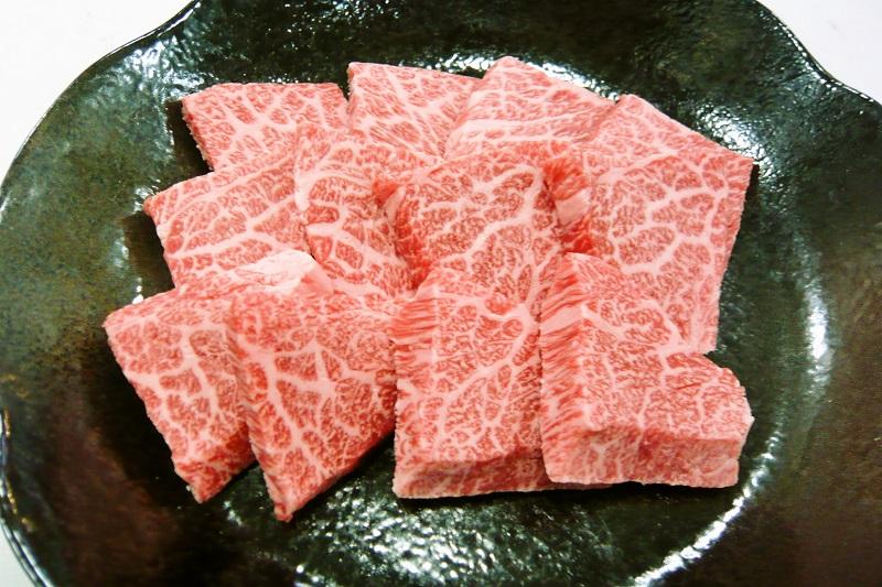 淡路ビーフ(神戸ビーフ)A4ランク 焼肉 アミ焼き用 500g
