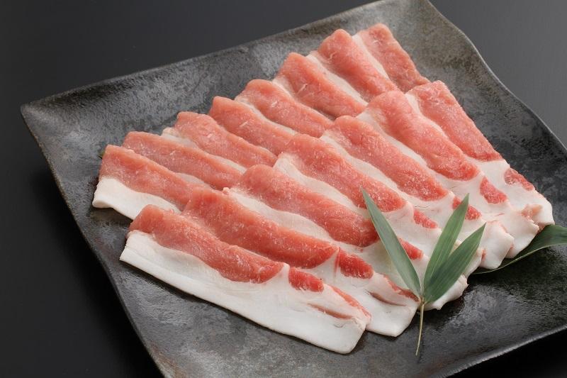 金猪豚(いのぶた) ロースしゃぶしゃぶ用 1kg
