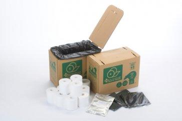 クリーンズファミリー/災害時用トイレ&トイレットペーパーセット/丸英製紙