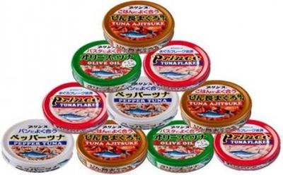 353-085-Cプリンス5種類(赤缶・銀缶・味付・ペッパー・オリーブ)バラエティ24缶セット5S-50