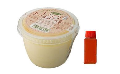 北海道上川町産の牛乳をたっぷり使用「ベレル」手作りしっとりPudding6個セット