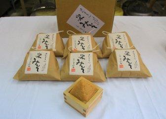 ほんまもん米みそ(500g×6個)