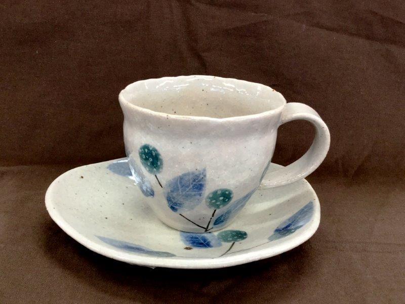 野いちごコーヒー碗・皿