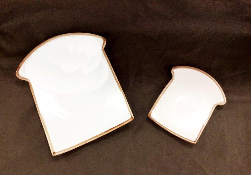 パン型皿 小