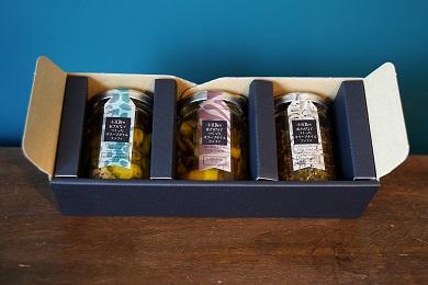 小豆島産オリーブオイルコンフィ3品セット 鰆オリーブオイルコンフィ鳥賊オリーブオイルコンフィちりめんじゃこオリーブオイルコンフィ