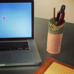 青柳畳店かほりイ草のペン立て