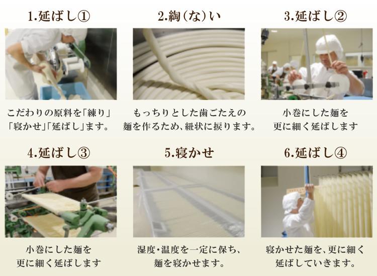 国産小麦100%使用【金帯】島原手延べそうめん1kg
