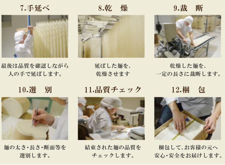 国産小麦100%使用【金帯】島原手延べそうめん3kg