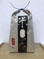 【2017年秋収穫分】若井農園減農薬特別栽培米 もち米(品種 滋賀羽二重糯) 5Kg