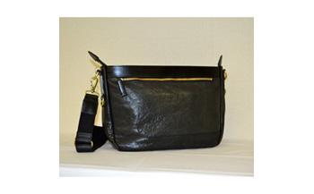豊岡鞄 VTL皮革SDBAG(ブラック)24-130