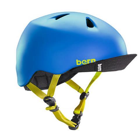 (S-M4歳~6歳)BERNのジュニア、キッズ用ヘルメット BOYSBLUE