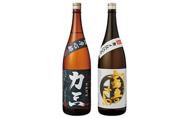 小牧醸造 芋焼酎2本セット(薩摩心酔力三1.8L・金吾さぁ1.8L)