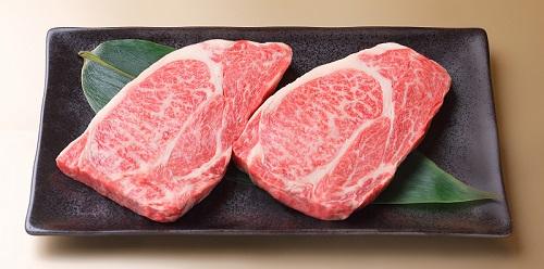 近江牛ステーキ用(肩ロース2枚)