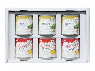 【6缶セット】香川県産フルーツ缶詰ギフト