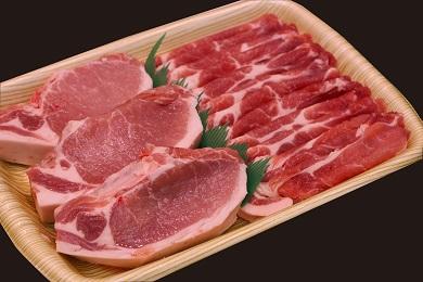 福井ポーク 豚テキ+生姜焼き用 豚テキ200g×3、生姜焼き用肩ロース500g