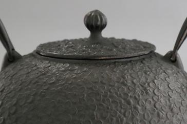 南部鉄器鉄瓶梅丸子