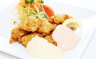 宮崎県産鶏一口チキン南蛮総重量5.6㎏ 2種類のタルタルソース付き