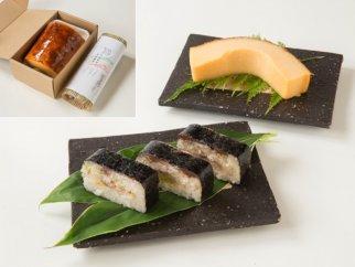 ちょうしあわせセット<さば寿司&銚子名物伊達巻ハーフサイズ>