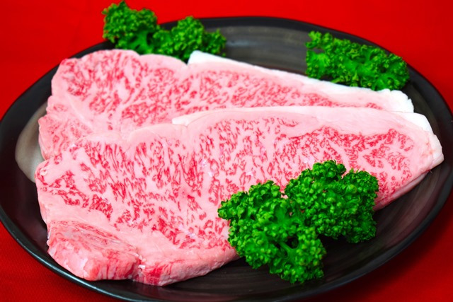 AE706-C登米産仙台牛 厚切りサーロインステーキ 600g(約300g×2枚)【40000pt】