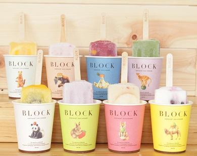 BLOCK natural ice cream 24本セット