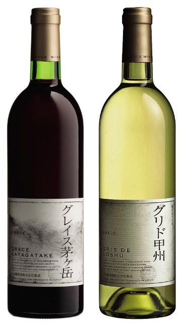 <山梨・中央葡萄酒>グレイスセット(赤・白ワインセット)A