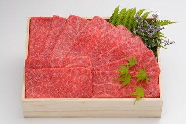 肉質等級4以上!濃厚な旨味ととろける柔らかさ『銘柄福島牛』もも赤身しゃぶしゃぶ用300g
