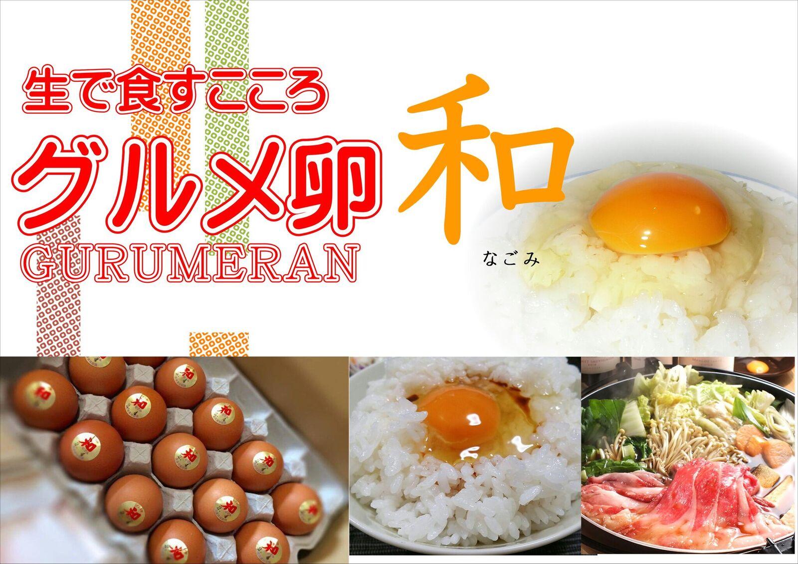 卵かけご飯専用卵「グルメ卵和」