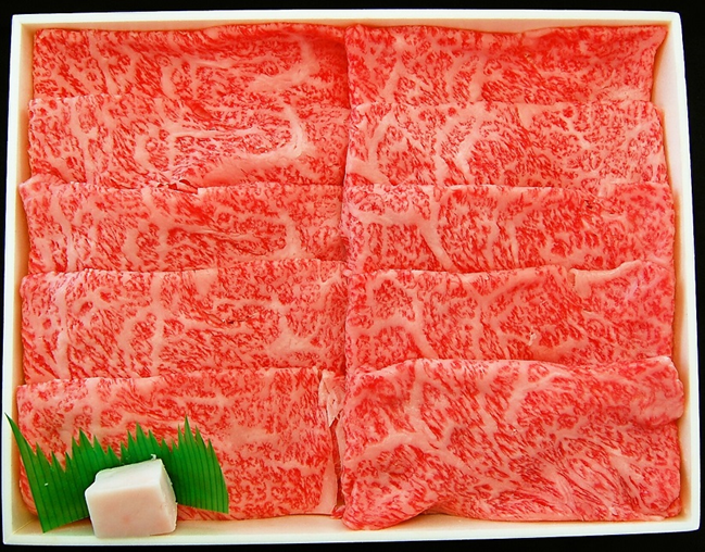 【A4/A5ランク黒毛和牛】びらとり和牛肩ロースすき焼き700g