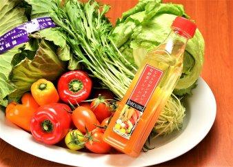 【有機JAS認定オーガニック】シェフの目線「旬野菜と玉ねぎドレッシング詰合せ」