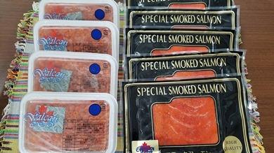 【クレジット限定】AD05贅沢三昧!醤油いくら&天然紅鮭スモークサーモン