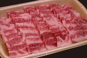 若狭牛焼肉用(A5ランク) 600g