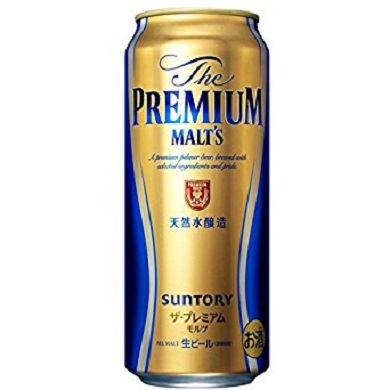 【生ビール】サントリーザ・プレミアムモルツ缶500ml×24本(1ケース)