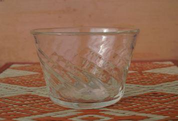 BA60倉敷ガラス 小鉢(透明)