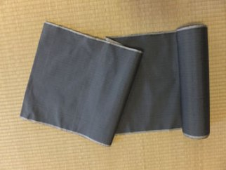 大石紬一疋 玉虫織り