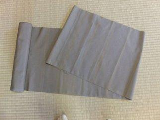 大石紬羽織  横縞柄 (胡桃染め)