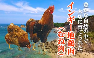 インギー地鶏むね肉250g以上