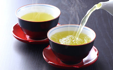 高級煎茶2本と高級抹茶入玄米茶セット