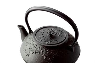 南部鉄器鉄瓶お茶々もみじ1.2L