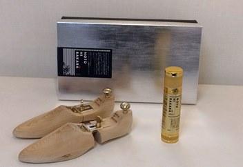 【NOTOHIBAKARA】シューキーパーと靴用スプレーセット(Sサイズ)
