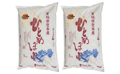 RM727-C【29年度産】天日干しひとめぼれ白米10kg(5kg×2袋)【22000pt】