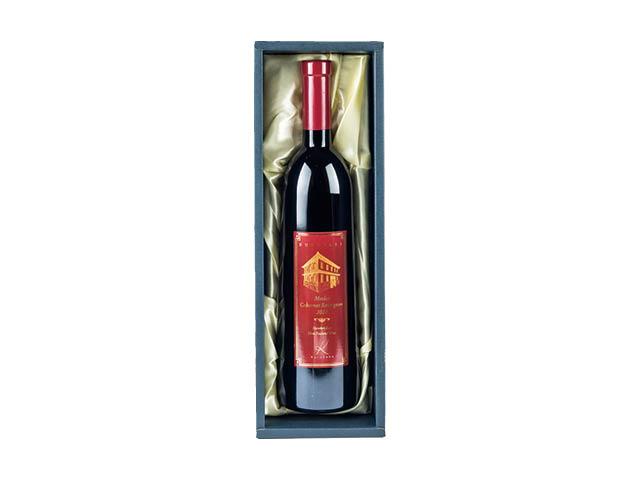 黒壁ワイン赤&ワイングラスペアセット