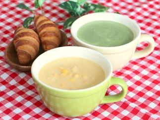 【北海道産の野菜にこだわった】2種のきもべつスープ食べくらべセット