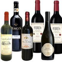 赤ワイン6本セット 第3弾【フランス・スペイン・イタリア産】