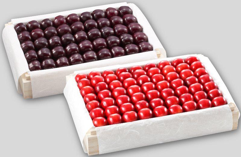 BC23 紅姫・サミット特選桐箱詰 1,100g×2