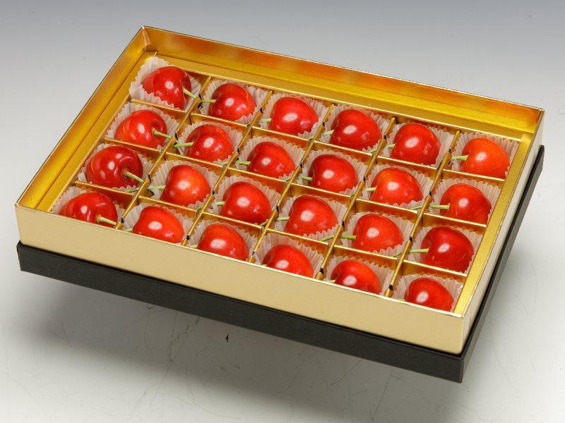 BC01 珠玉の佐藤錦 みやび箱 24粒