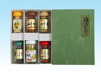 【島根県エコロジー農産物推奨】津和野産ゆずを使った調味料セット