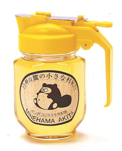 T001【着日指定可】白神山地の純粋なアカシアのハチミツ「ピッチャー」(220g)【10,000pt】