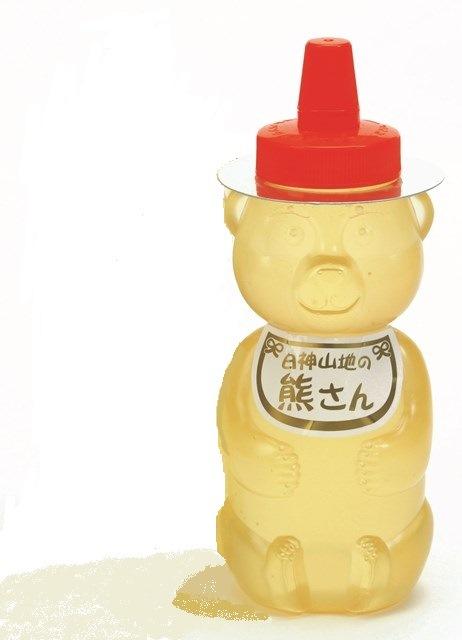 T003【着日指定可】白神山地の純粋なアカシアのハチミツ「熊さん」(420g)【13000pt】