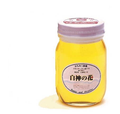 T004【着日指定可】白神山地の純粋なアカシアのハチミツ「白神の花」(500g)【14000pt】