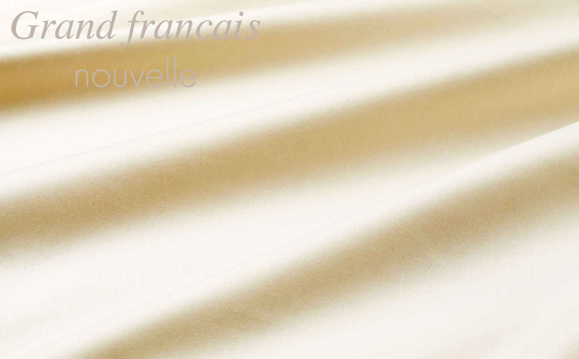 【ダブルサイズ】日本製 羽毛布団を引き立てる やわらか超長綿掛け布団カバー カラー:サンド